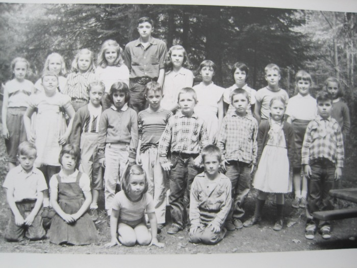 131.5 Blue School Students 1956-57