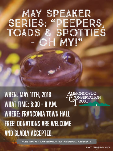 2018.05 Amphibians Talk Event Flyer