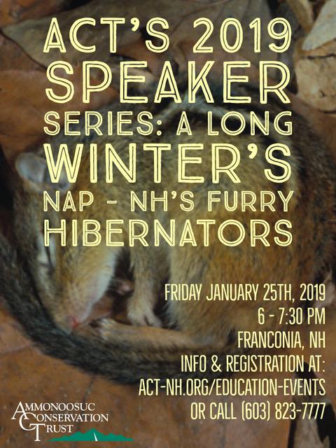 2019.01 hibernators talk ll flyer