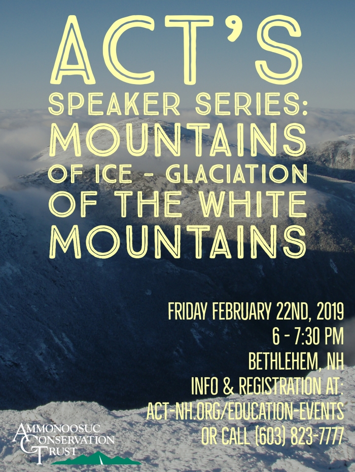 2019.03 S&B Glaciation Talk LL Flyer