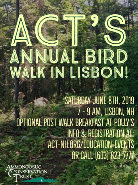 2019.06 Annual Bird Walk LL Flyer